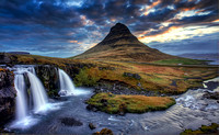 Kirkjufell and Waterfall, Iceland