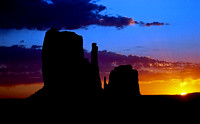 The Mittens, Monument Valley Navajo Tribal Park, Arizona